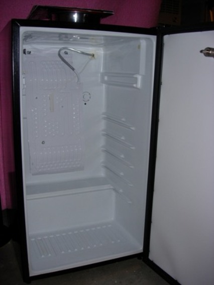 and channels through the freezer itself are somewhat brittle be sure they are room temperature or warmer bend slowly so they donu0027t kink or split - Ge Mini Fridge